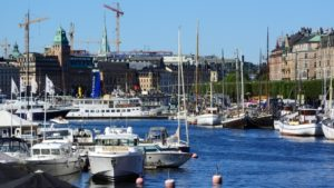 sea-dock-boat-Suède