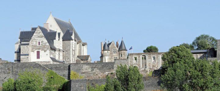Le Château d'Angers, ville d'art et d'histoire dans le Maine-et-Loire
