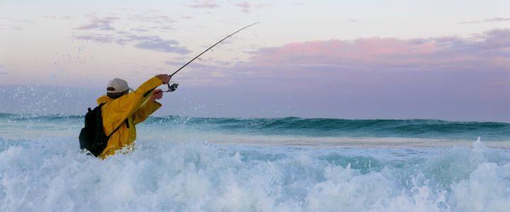 pêche dans l'océan en Bretagne